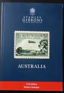 2018 STANLEY GIBBONS AUSTRALIAN  STAMP CATALOGUE  2020 REPRINT 11th EDITION NEW