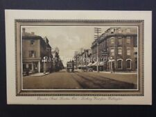 Canada LONDON Ontario DUNDAS STREET Looking West TRAMS & MET HOTEL Old Tucks PC