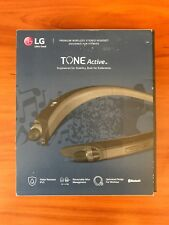 New Genuine LG HBS-A80 TONE ACTIVE Wireless Bluetooth Headset - Black -