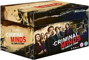 CRIMINAL MINDS COMPLETE SERIES 1-15 COLLECTION DVD BOX SET 73 DISC R4 NEW&SEALED