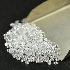 2.1mm 14pcs Round White loose moissanite stone diamond colorless D VVS1