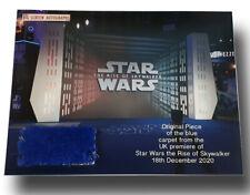 Star Wars Rise of Skywalker UK Original premiere blue carpet piece