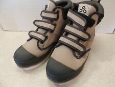 Pro Line Men's size 7 Nylon Wading Boots with Rubber Outsole & Velcro Closures
