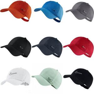 Nike Cap Swoosh Metal Logo Mens Womens Running Golf Embroidery Baseball Hat