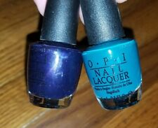 OPI Nail Polish LOT in RUSSIAN NAVY & AMAZON... AMAZOFF