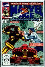 Marvel Comics MARVEL AGE #92 Iron Man VFN/NM 9.0