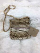 The Sak Crossbody Purse Crochet Bag Neutral Tan