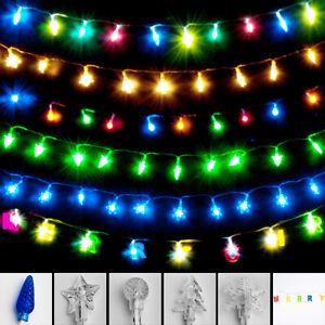 Lichterkette Batterie Innen LED Weihnachtsdeko bunt Weihnachten Deko beleuchtet