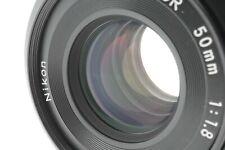 [MINT] Nikon Ai-s Nikkor 50mm f/1.8 Pancake MF Prime Lens From Japan
