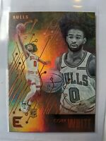 2020 Chronicles Essentials Coby White RC Bronze Basketball Card #216 Bulls mint