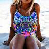 Sexy Women's One Piece Bikini Push-Up Padded Swimwear Swimsuit Bathing Suit