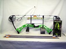 """Diamond by Bowtech - Prism Neon Green Package- Right Hand 5-55# 18-30"""" Draw"""