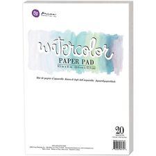 """Prima Marketing - Watercolor 140lb Cold Press Paper Pad 8.5""""X11"""" 20/Pkg"""