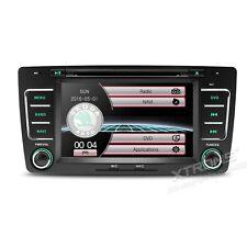 "Navigatore Autoradio 2 din Touch 7"" Skoda Octavia dal 09-13 GPS/bluetooth/DVD"