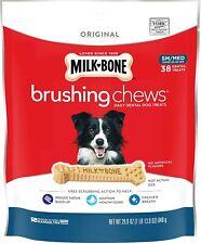 Milk-Bone Original Brushing Chews Daily Dental Dog Treats free shippiN