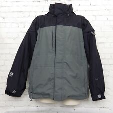 Womens 686 Gray Black Snowboard Jacket
