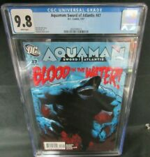 Aquaman: Sword of Atlantis #47 (2007) Jackson Guice Cover Cgc 9.8 D516