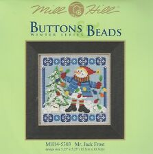 Christmas Mr. Jack Frost Buttons & Beads Kit by Mill Hill