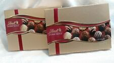 *SALE* (2) Gift Box Lindt Assorted Chocolate Gourmet Truffles 7.3 Oz Exp 7/31/20