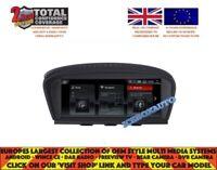 BMW E60 E61 E62 E63 E90 E91 E92 E93 3 5 6 SERIES 8.8 NAVI ANDROID 4.4 (CCC)