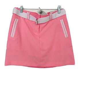 Izod XFG  Skort Pink Size 4 Pro Series New Belt Golf Tennis Light Weight Woman