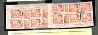 1967 Canada SC #459 Plate 1 set of MNH Inscription Blocks