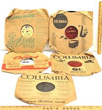 Vintage 78 RPM Vinyl Nippon Columbia King Record Teichiku Japan Autry Arnold