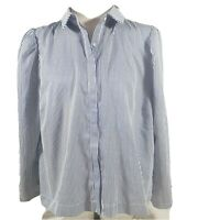 Anthropologie Saturday Sunday Top Size Large NEW Button Up $98 Blouse With Tags