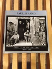 Paul Strand Masters of Photography softcover book, Aperture