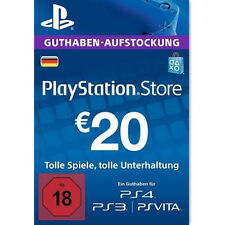Sony PlayStation Network 20 Euro Card