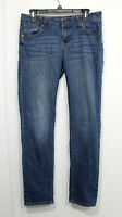 Paris Blues Size 11 Jeans Stretch Thick Stitch Pocket Whisker Lightweight Casual