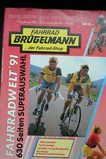 BRÜGELMANN catalogue 1991, vintage, collector, Campagnolo, Cinelli, Colnago Look