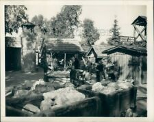 1950 Press Photo Ghost Town Knott's Berry Farm Amusement Park Buena Park CA