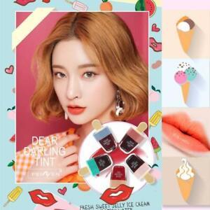 5pcs/set Korean Style Ice Cream Lip Tint Waterproof Lasting Lipgloss Cosmetic