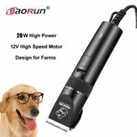 2018 20 W haute puissance professionnel chien tondeuse toilettage animaux