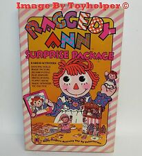 Raggedy Ann Surprise Package Colorforms Play Set #930C Unused Vintage 1975