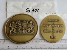 Medaille Staatsehrenpreis Bay. Staatsministeriums Ern. Landwirt. Forsten (G102-)