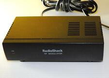 RF Modulator - Audio Video Converter AV RF RCA Coax RadioShack 15-1244