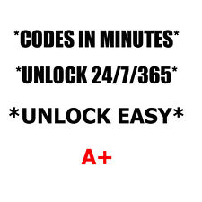 Unlock code LG Spree K120 Stylo 2 K540 Escape 3 K373 X power K450 Cricket ONLY