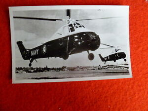 NAVY HELICOPTER   OLD AUST PHOTOGRAPH 6X4 INCH