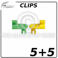 Clips Door lock Rod Clips 3 MM Renault Avantime/Clio/Duster etc Part 1275  5 + 5