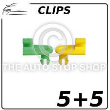 Clips Puerta Cerradura Rod 3mm Renault Avantime /Clio / Plumero Etc Pieza 1275