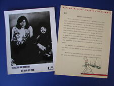 Electric Light Orchestra 1973 On The Third Day Publicity Photo Press Release Elo