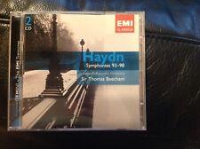 Sir Thomas Beecham conducts Haydn Symphonies 93-98 RPO EMI 2 CD Set