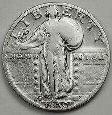 1930-s Standing Liberty Quarter.  Better Grade.  87097   (Inv-A)