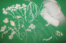 Floral Supplies to make Bridal Bouquets for Dolls