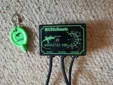 Microclimate Ministat 100 thermostat reptiles snakes