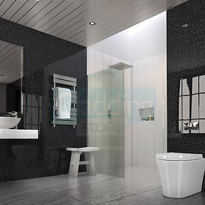 8 Black Marble Wall Cladding Ceiling Kitchen PVC Plastic Panel 8mm UPVC