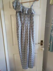Ladies Next size 12 jumpsuit ruffle shoulder BNWT RRP £50