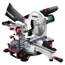 "Metabo 18V Cordless 216mm (8-1/2"") Crosscut Sliding Mitre Saw KGS 18 SK 216 (Too"